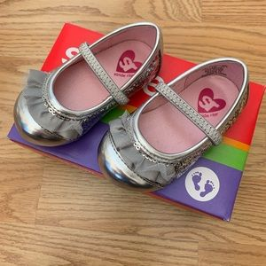 Stride Rite Shoes Baby Quinn Silver 4